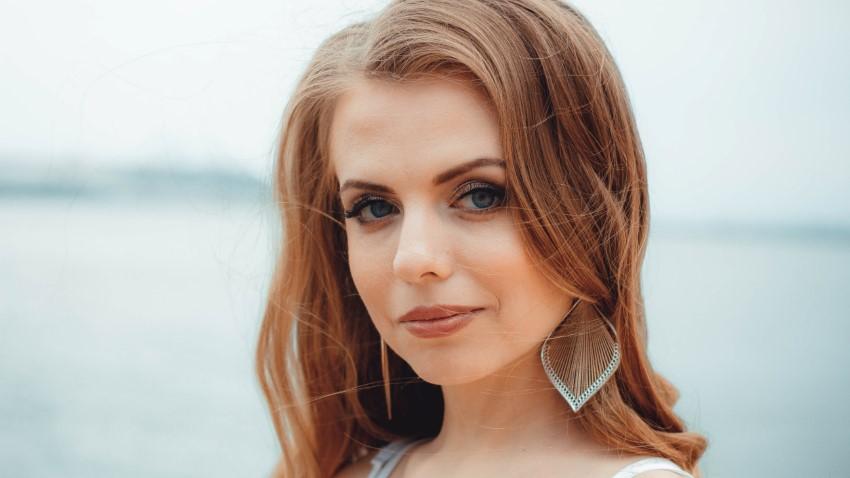 beautiful eastern european woman