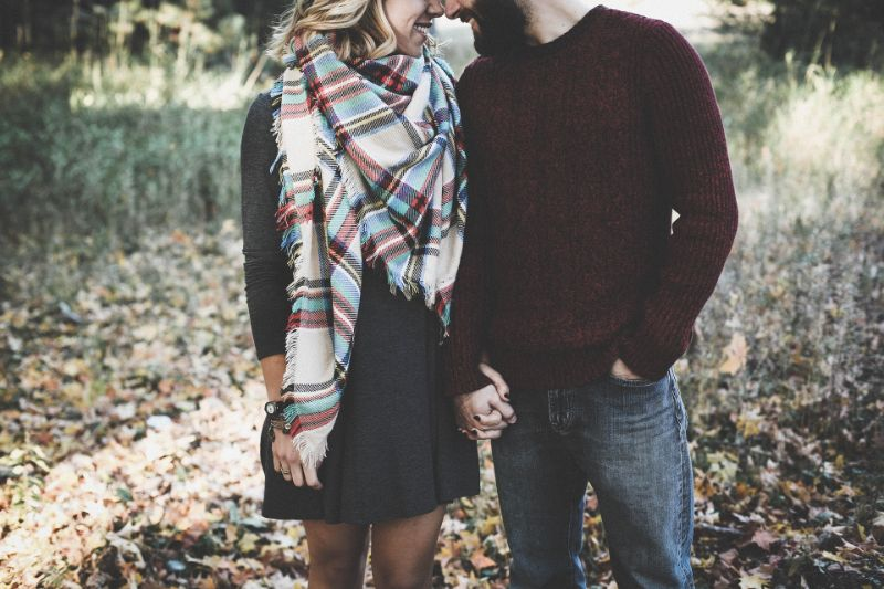 Christian couple in love